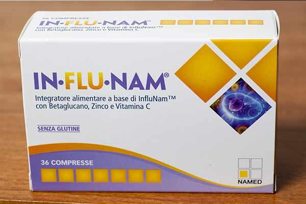 influnam influenza compresse