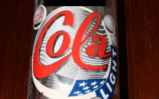cola diet etichetta aspartame