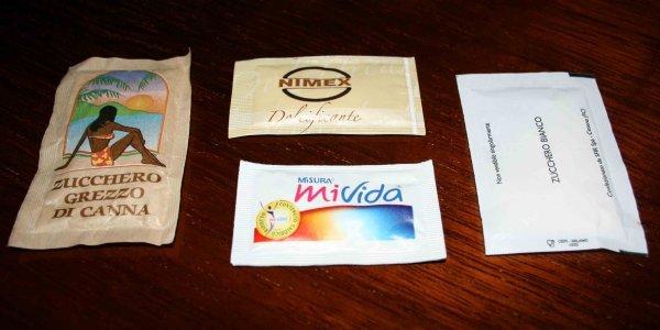 bustine dolcificanti aspartame