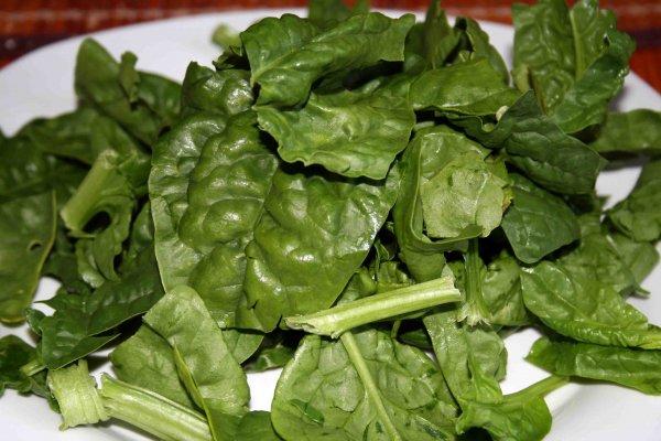foglie spinaci