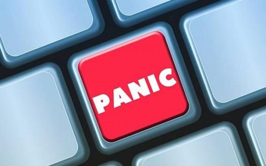 ansia panico tastiera