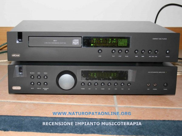 impianto audio musicoterapia arcam monitor audio
