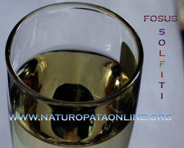 anidride solforosa contenitore vetro