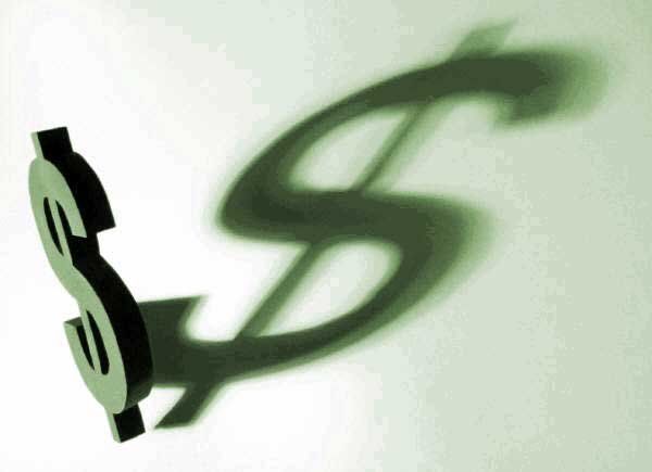 simbolo dollaro ombra