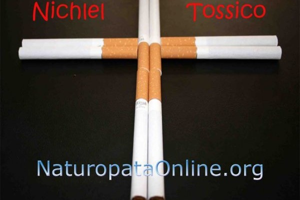 sigarette croce nichel