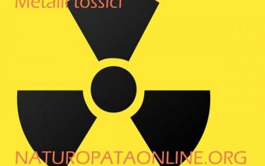 simbolo radiazioni metalli tossici