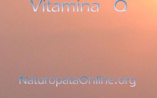 coenzima q10 o vitamina q