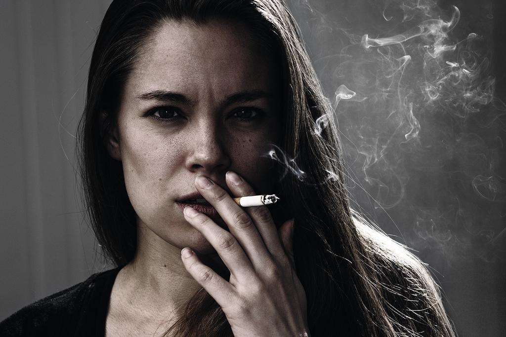 Dopo ha smesso di fumare bianco