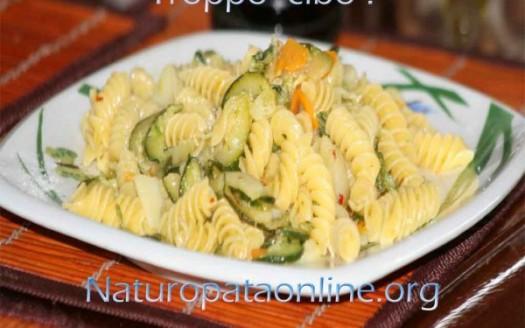 pasta condita fiori zucchini
