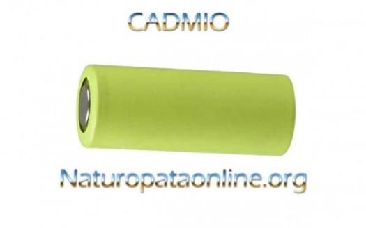 cadmio batteria pila
