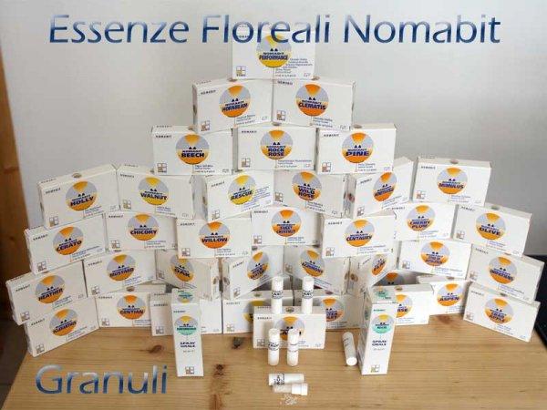 confezioni essenze floreali nomabit granuli