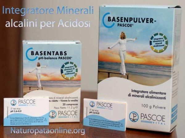 basentabs basenpulver pascoe integratori minerali alcalini