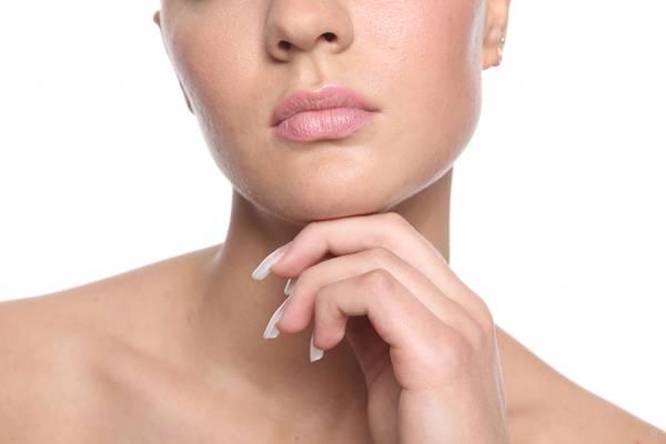 viso donna bocca
