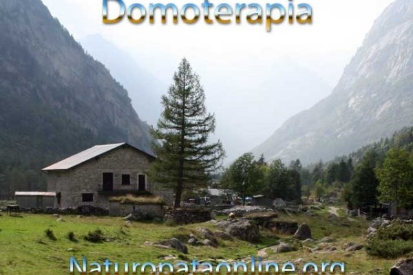domoterapia casa in montagna