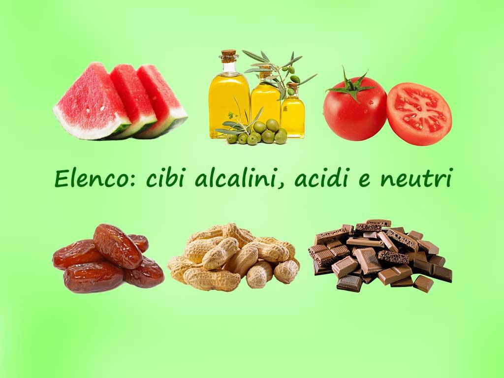 Acido Citrico Dosi Alimentari quali sono i cibi acidi, i cibi alcalini e gli alimenti