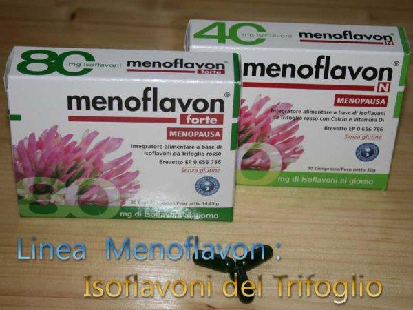 isoflavoni trifoglio linea menoflavon