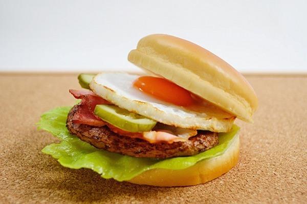 hamburger panino