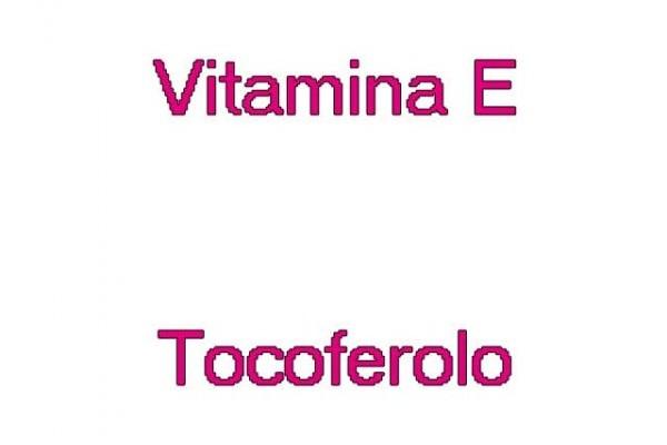 vitamine E tocoferolo