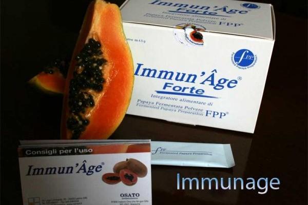immunage papaia fermentata osato