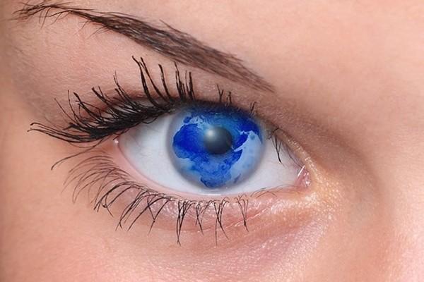 occhio mondo