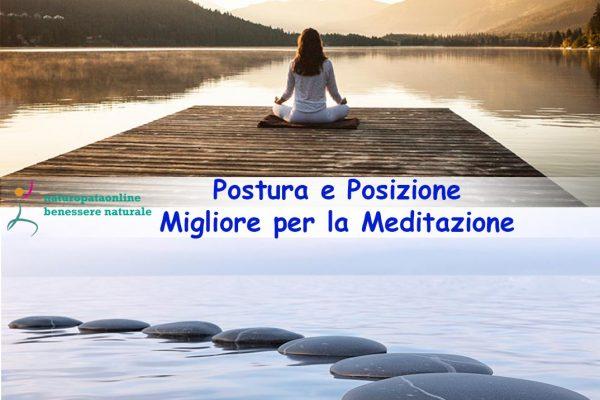 postura e meditazione