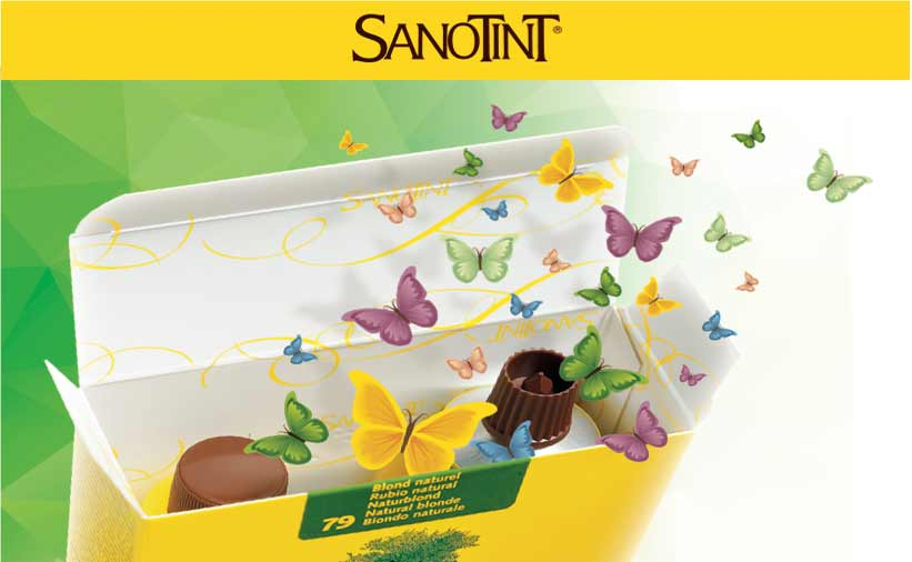 Sanotint sensitive tinta senza ammoniaca e ppd for Tinta per capelli sanotint