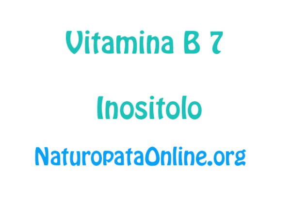 vitamina b7 inositolo
