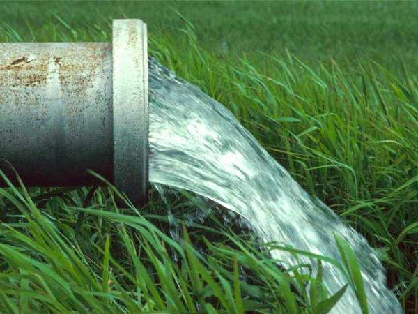acqua prato tubo