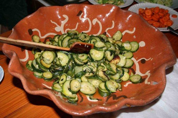 zucchine menta