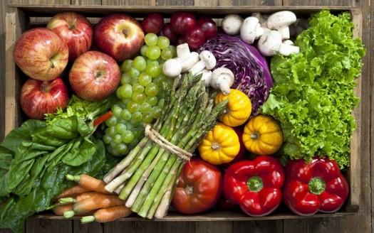 Marzo frutta e verdura