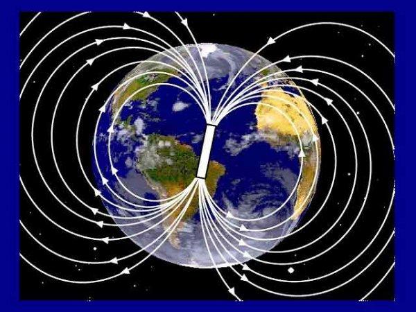 poli magnetici terra