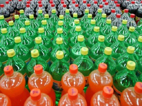 bottiglie bevande gassate