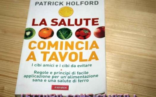 libro salute comincia a tavola