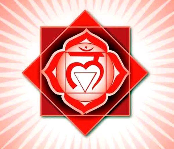 chakra rosso