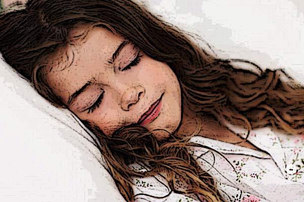 bambina-dorme