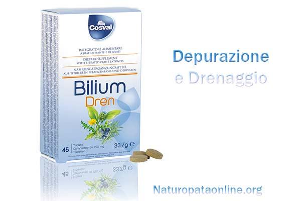 Bilium dren depurazione drenaggio