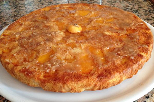 torta-nespole-capovolta-ricetta