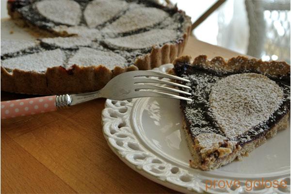 crostata-quattro-farine-marmellata-ciliege-vegan-ricetta