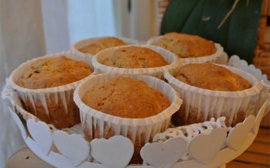 muffin-ricetta-vegan-mirtilli-rossi