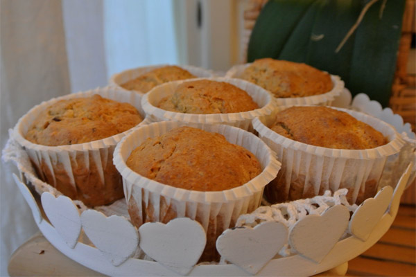 muffin-ricetta-vegan-mirtilli-rossi