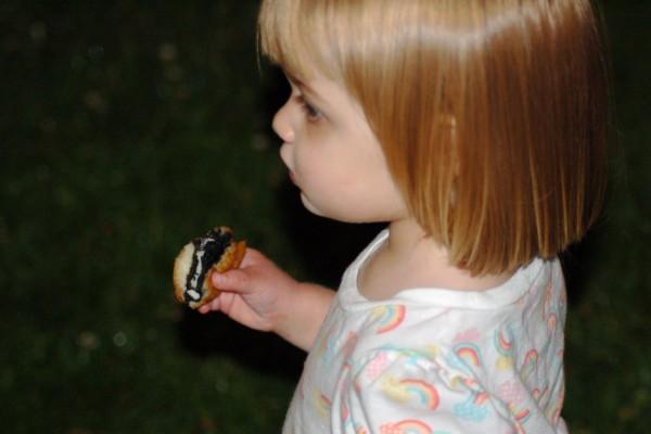 Bambina biscotto