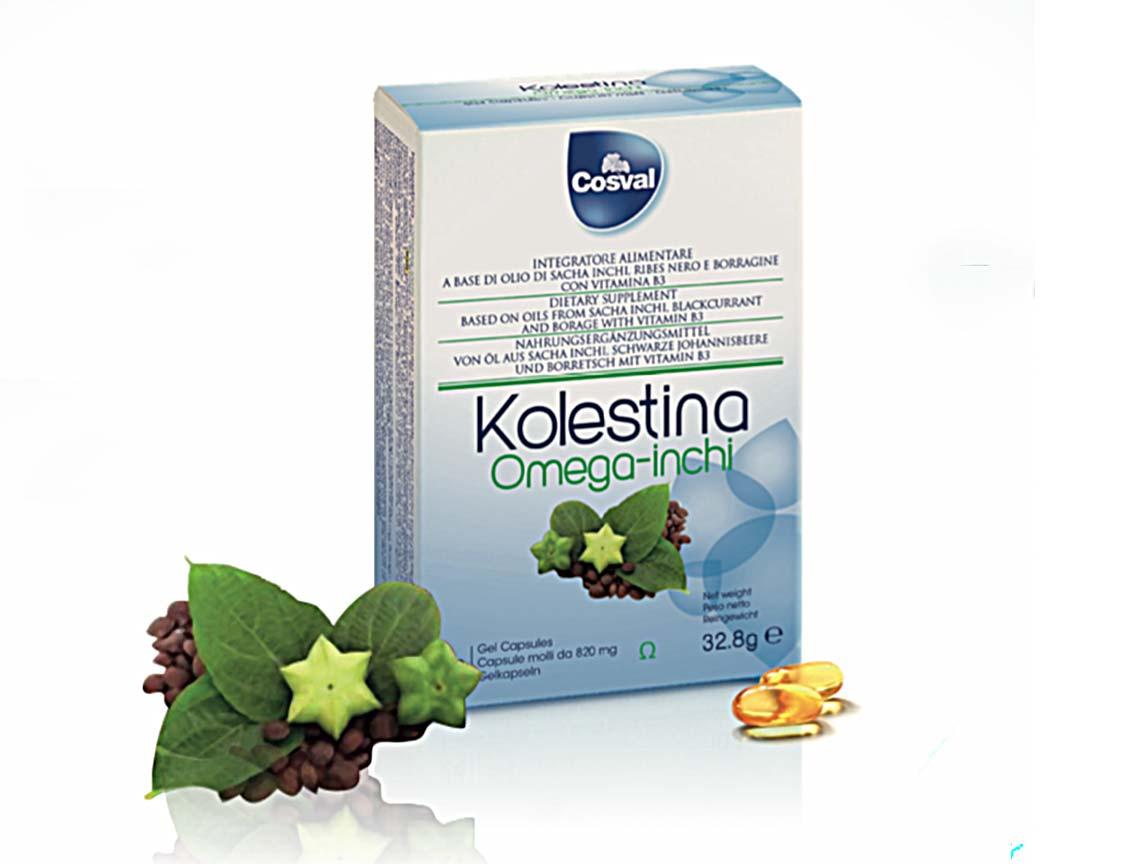 Integratore omega 3 Kolestina Omega Inchi