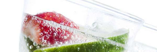 acqua alla frutta