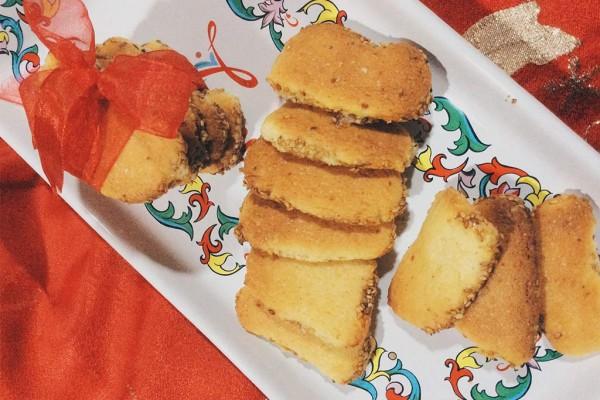 Biscotti al limone con semi di sesamo