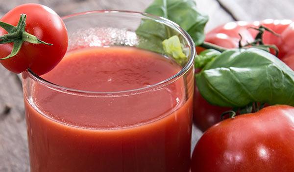 succo di pomodori