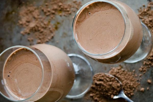 frullato al cioccolato