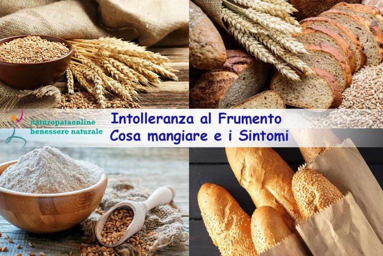 intolleranza al frumento