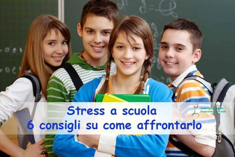 Stress a scuola