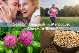 Squilibri ormonali in menopausa