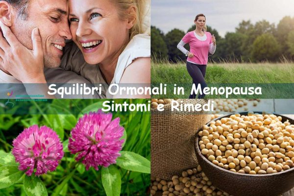 Squilibri ormonali in menopausa